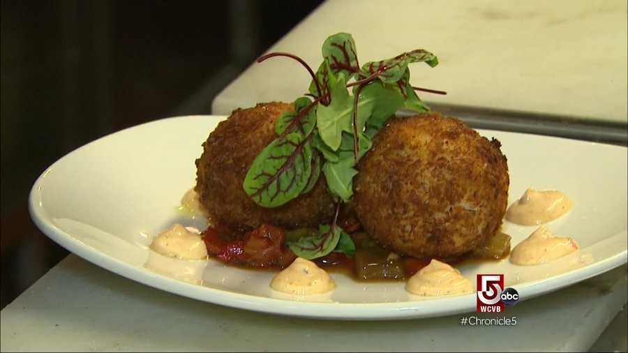 The crispy crab and cod cakes are a big hit.