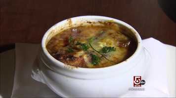 So is the classic french onion soup.