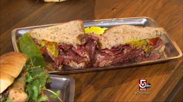 The owner said it's flattering to know that people stop by to eat and order another sandwich to take home.