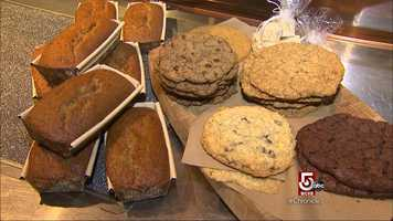 Commonwealth sells all sorts of organic products and baked goods.