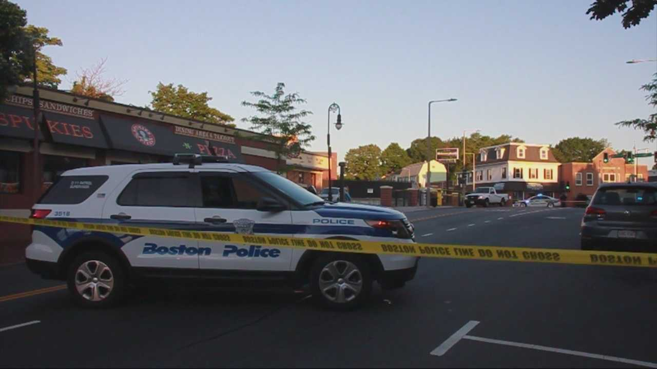 A woman was killed on River Street in Dorchester Saturday morning