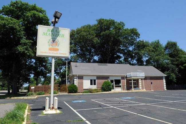 This shuttered Friendly's in Holbrook was turned into a Hindu temple with a membership of more than 2,500.