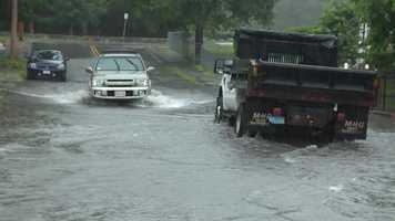Wednesday brought a flood warning to Bristol County.
