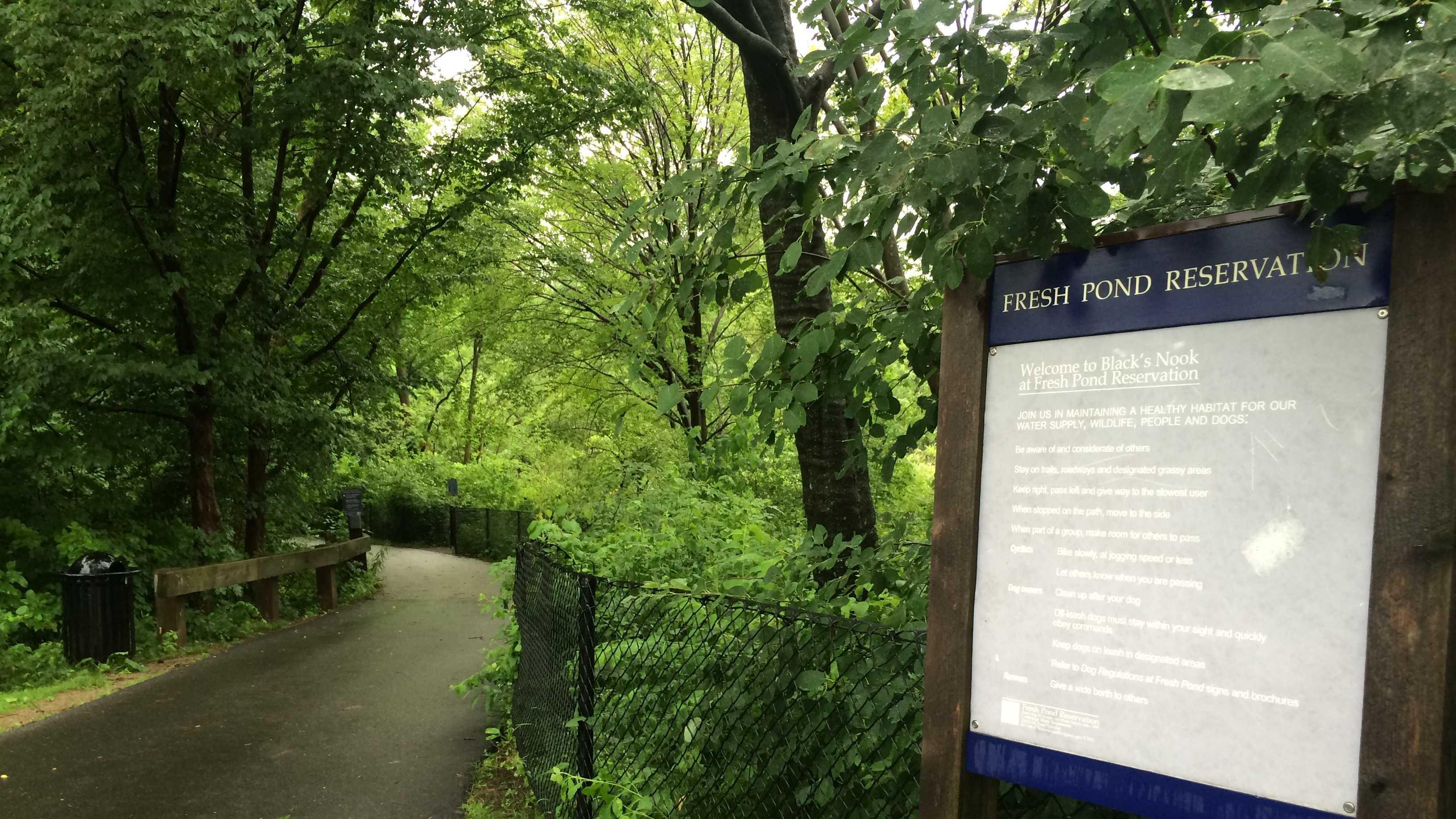 Cambridge walking path