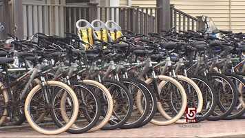 Most residents prefer bikes.