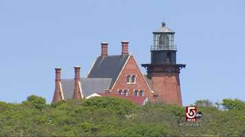 Over the years the bluffs have eroded, forcing a big move for Block Island's Southeast Lighthouse.