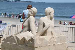 Sand sculptures by Hanneke Supply from Rotterdam, Holland.