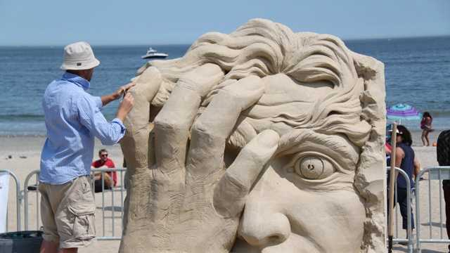 Revere Beach Sand Sculpting Festival  Winner