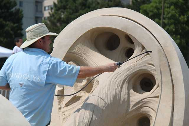 "In 2010, Croft was approached by the Travel Channel to create ""Sand Masters"""