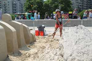 The event, which runs through Sunday, attracts as many as 500,000 people to Revere Beach.