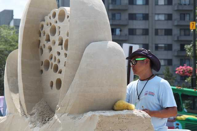 Only the master sculptor may do the work.
