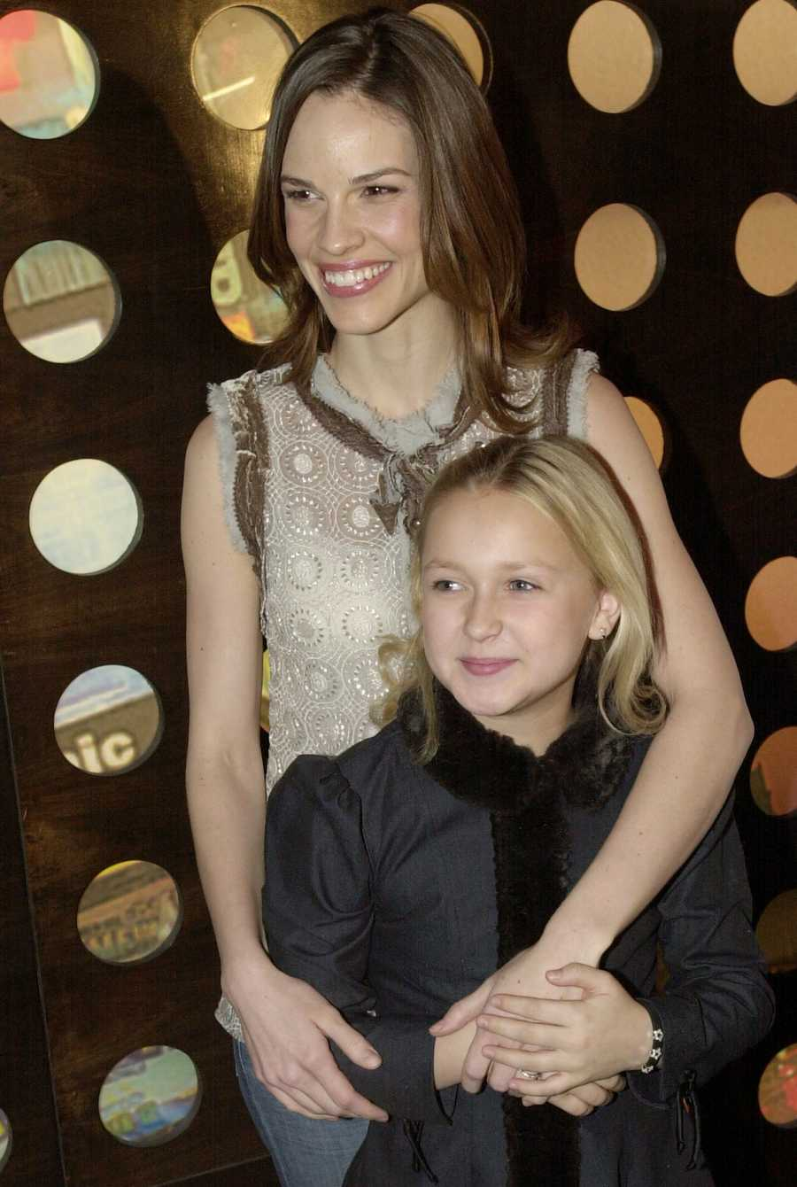 "Skye McCole Bartusiak, seen here with Hilary Swank in 2003, played the youngest daughter of Mel Gibson in ""The Patriot."" She got her start in acting at 6 years old with a role in ""The Cider House Rules."" Her most recent film lead was in ""Sick Boy,"" a low-budget thriller from 2012.  (Sept. 28, 1992 -- July 19, 2014)"