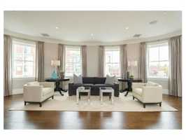 409 Commonwealth Ave. #F is on the market in Boston for $4.4 million.