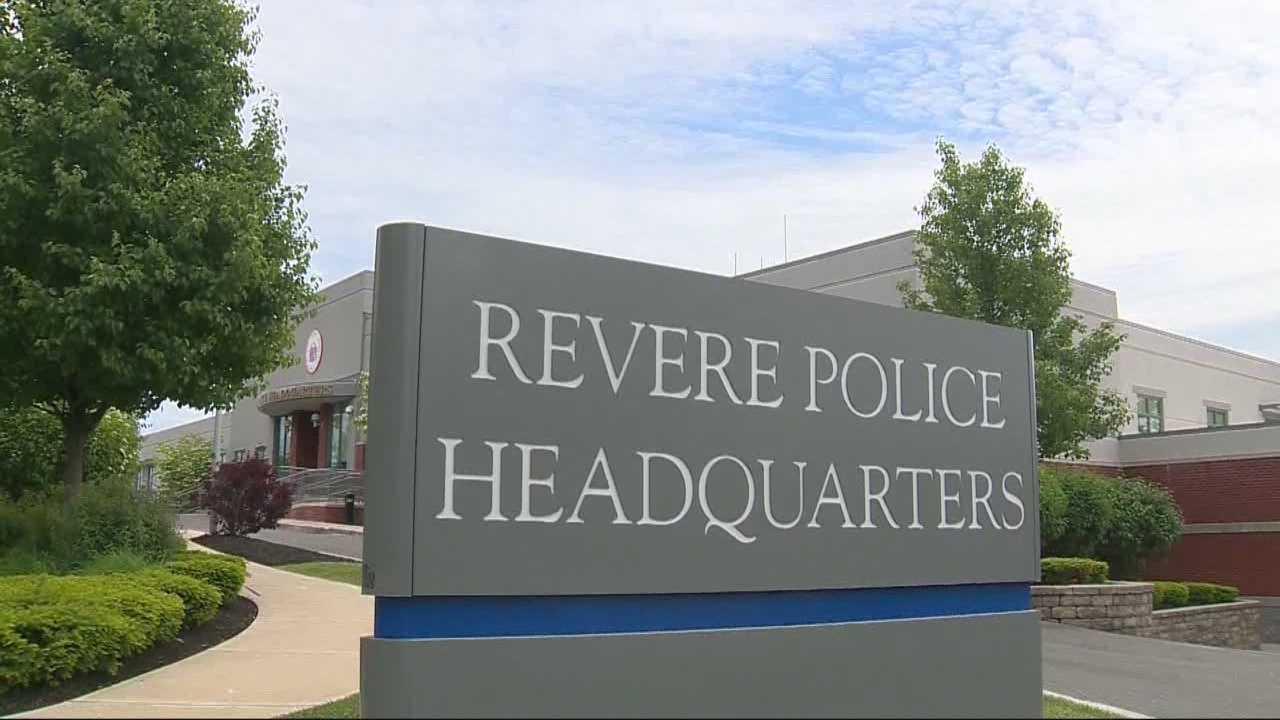 Revere police sign