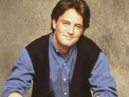 """Matthew Perry, WilliamstownMatthew Perry played the funny, sarcastic, insecure Chandler Bing in """"Friends,"""" who was the college roommate of Ross and the eventual boyfriend and husband of Monica."""