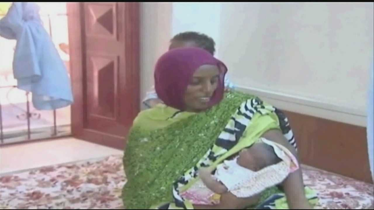 Meriam Ibrahim will be returning to New Hampshire this week after escaping a death sentence for marrying a Christian man. Ibrahim's story gained international attention and she was recently surprised by a meeting with the pope.