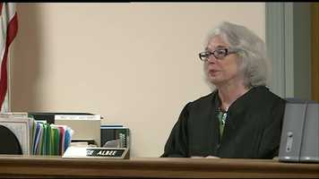 A judge denied Kibby's public defender's request to unseal affidavits and other investigative records before the hearing.