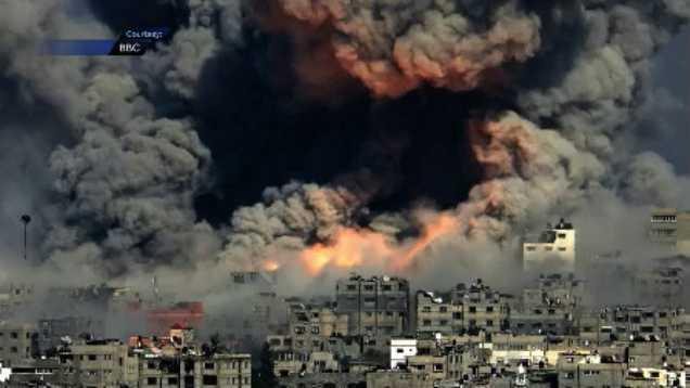 gaza strike 7.30