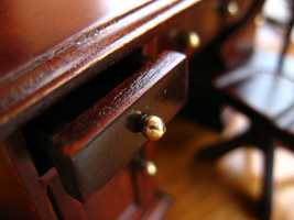 Wood Furniture: Once a year