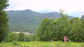 The beautiful, stunning White Mountains of New Hampshire.