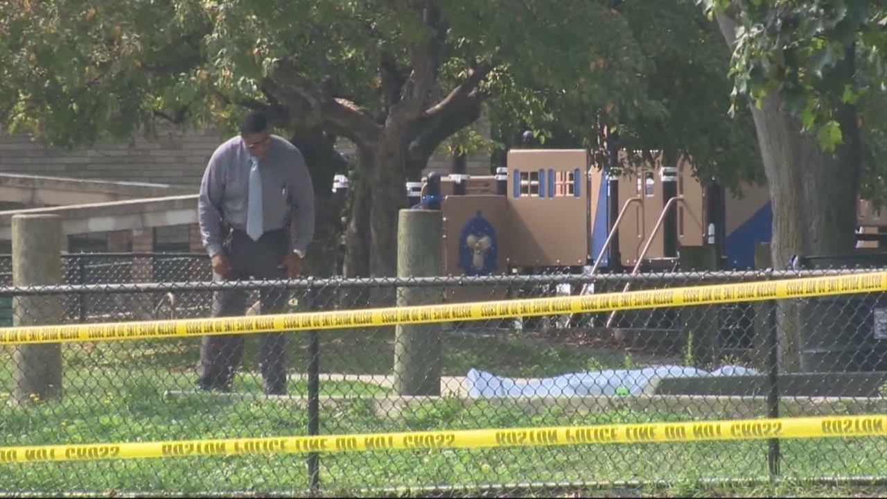 Man found stabbed to death in park