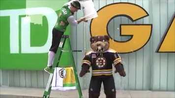 Blades, the Boston Bruins mascot