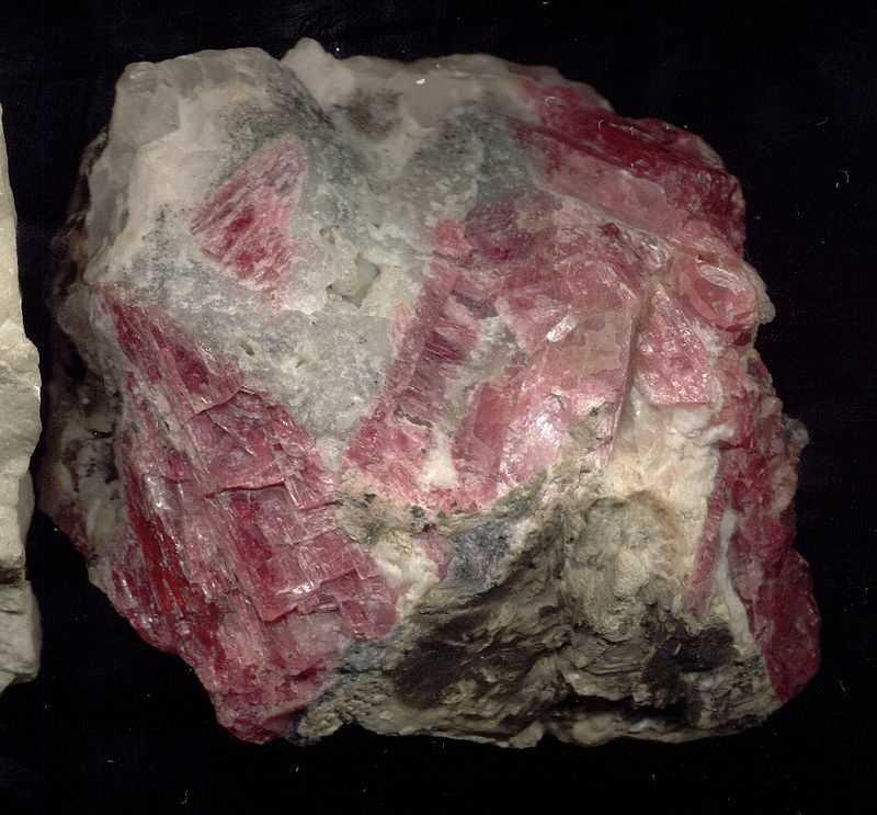 Rhodonite is the Massachusetts State gem.