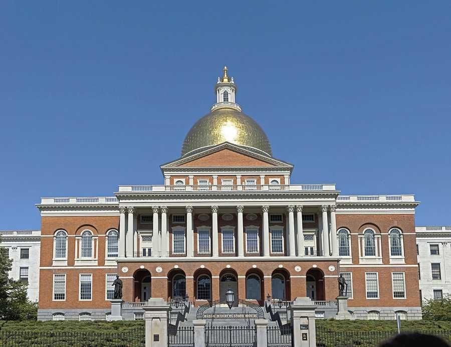 """""""All Hail to Massachusetts"""" by Arthur J. Marsh became the Massachusetts state song in 1981."""