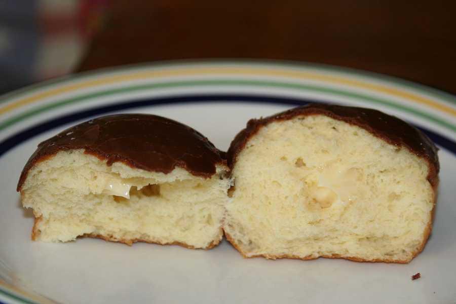The Boston Cream Doughnut is the official Massachusetts State Doughnut.