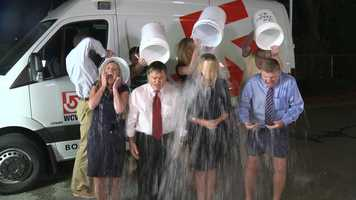 After the Ice Bucket Challenge, those who took part need to challenge someone else to do it.