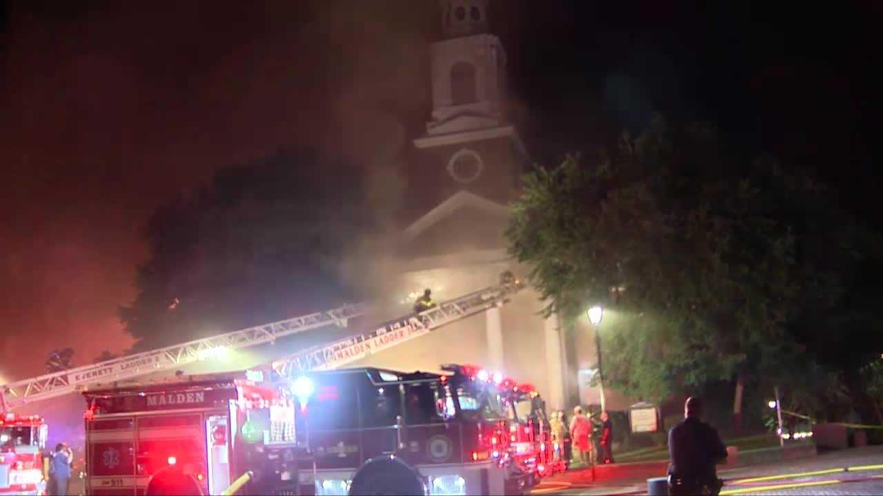 Malden Church Fire