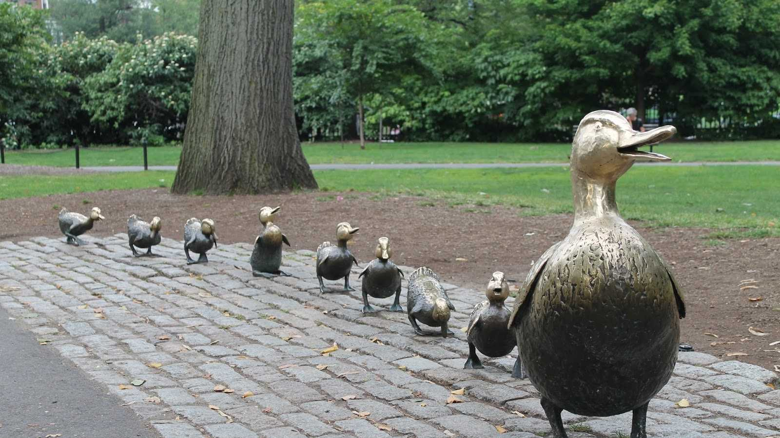 Make Way for Ducklings is the official Massachusetts children's book.