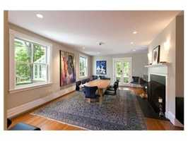 The home has more than 6,500 square feet of living space.