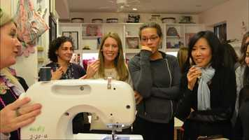 Here's a question: How do you make sewing? One stitch at a time at Hipstich.