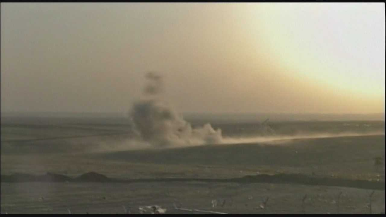 Fighter jets, drones strike targets in Iraq