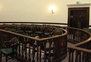 2. Serve on a jury: It varied by state (Utah deemed women fit for jury duty way back in 1879), but the main reason women were kept out of jury pools was that they were considered the center of the home, which was their primary responsibility as caregivers.