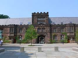 Yale and Princeton didn't accept female students until 1969.