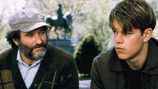 "Williams won an Oscar for his performance in 1997's ""Good Will Hunting"""