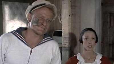 "Williams starred in the big-screen adaption of ""Popeye"" in 1980."