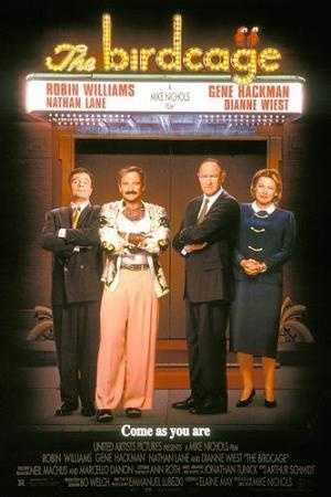 """Williams brought the laughs in 1996's """"The Birdcage"""""""