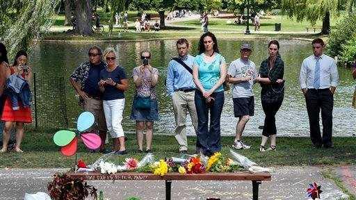 Robin Williams Boston Public Garden Memorial 8.12