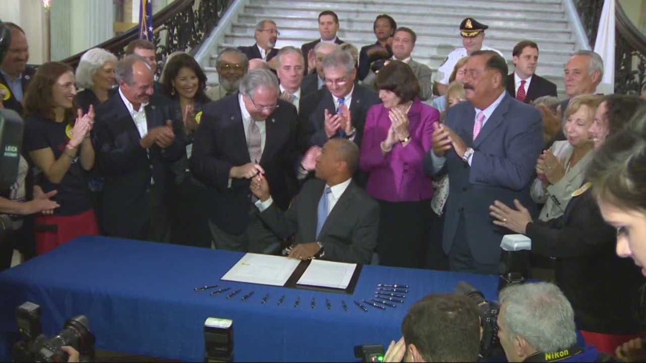 Bill updating state's gun laws signed by Gov. Patrick