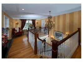 The second floor has 2 fabulous master bedrooms with beautifully appointed baths and walk in closets.