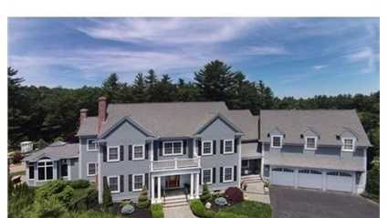 68 Burr Drive is on the market in Needham for $2.8 million.