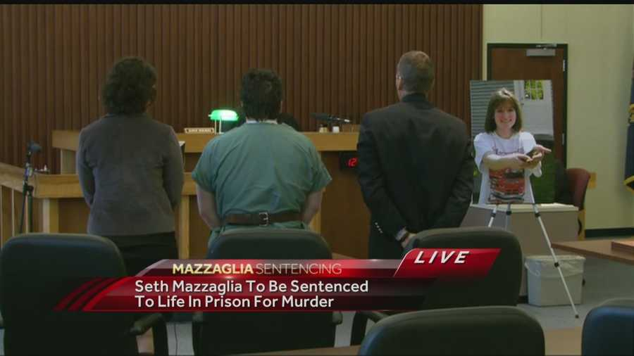 On Aug. 14, Seth Mazzaglia was sentenced to life in prison without the possibility of parole.