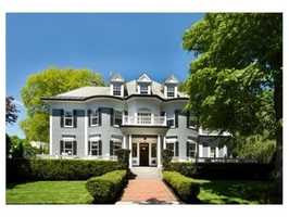 59 Hyde Avenue is on the market in Newton for $3.4 million.