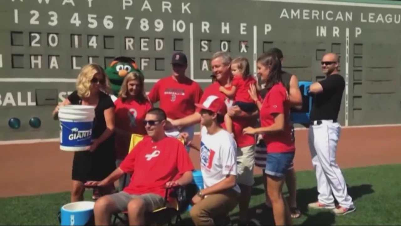 Donations 'pouring' in from Ice Bucket Challenge