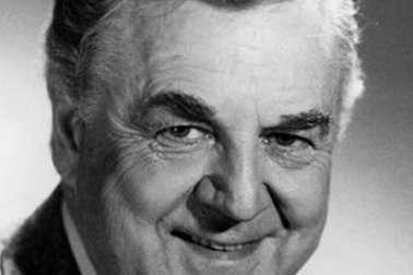 "Few would recognize his face, but most would know his voice: that booming baritone that for nearly four decades would introduce the lineups on ""Saturday Night Live."" Don Pardo was the durable television and radio announcer whose resonant voice-over style was widely imitated and became the standard in the field. During the original version of ""Jeopardy!,"" his answers to the question, ""Tell 'em what they've won, Don Pardo,"" became a memorable part of the program. (February 22, 1918 – August 18, 2014)"