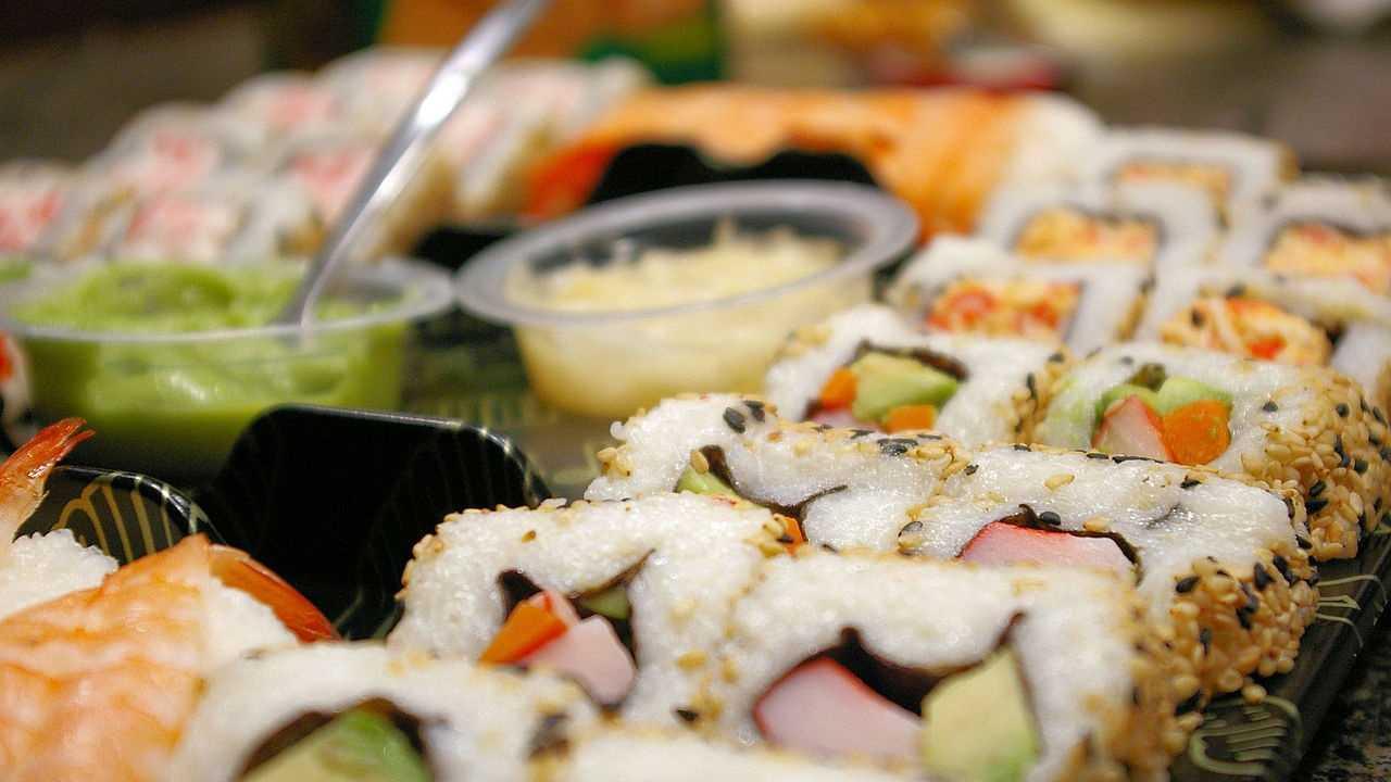 8.) Sushi rolls