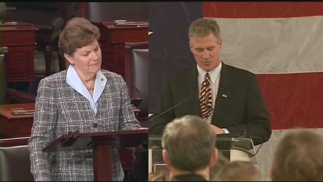 Even before the Republican primary, the latest WMUR Granite State Poll shows the gap narrowing between Sen. Jeanne Shaheen and challenger Scott Brown. WMUR's Adam Sexton reports.